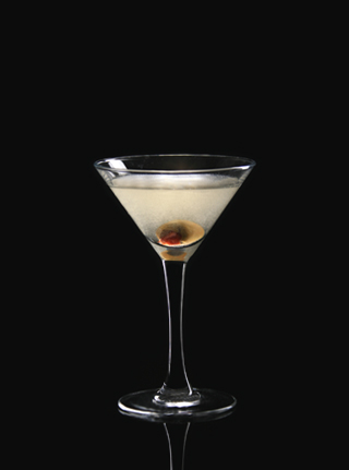 Coctail Dirty Martini